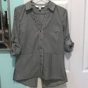 🖤Ever New Striped Blouse